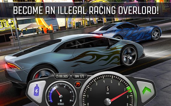 Top Speed: Drag & Fast Racing APK indir [v1.15]