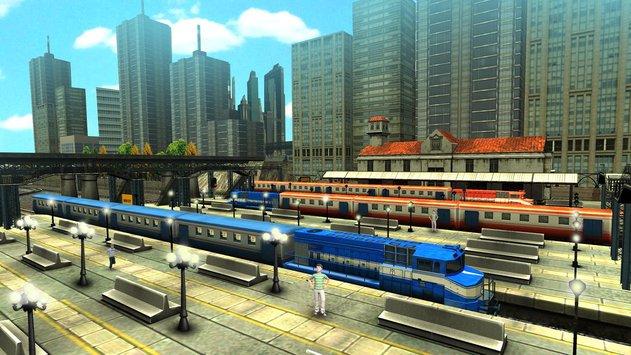 Train Racing Games 3D 2 Player APK indir [v3.2]