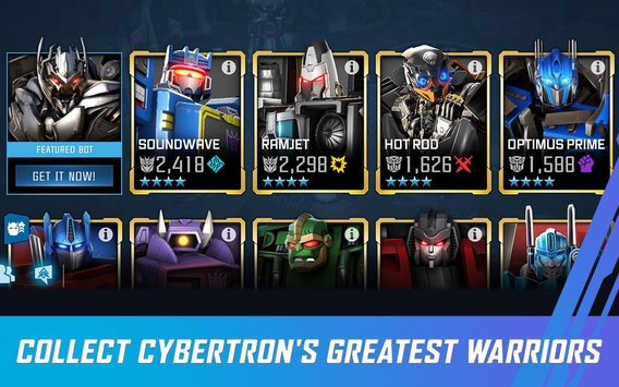 TRANSFORMERS: Forged to Fight APK indir [v3.1.4]