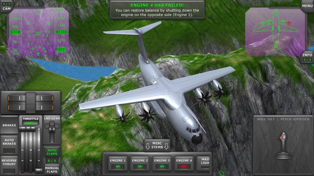 Turboprop Flight Simulator 3D APK indir [v1.18b]