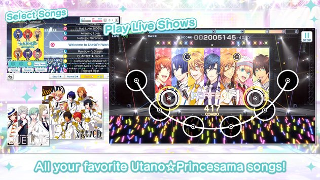Utano☆Princesama: Shining Live APK indir [vLatest Version]
