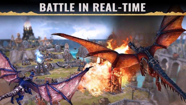 War Dragons APK indir [v3.60.1+gn]