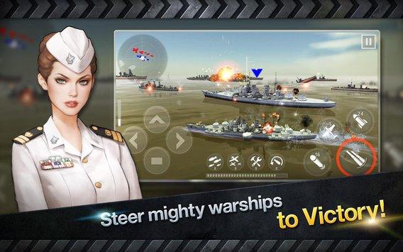 WARSHIP BATTLE:3D World War II APK indir [v2.5.2]