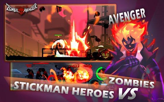 Zombie Avengers-Stickman War Z APK indir [v2.3.0]